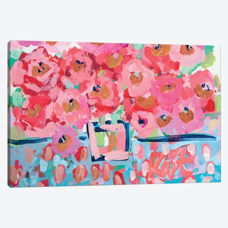 Electric Bloom Canvas Print #KAI240} by Kait Roberts Canvas Art