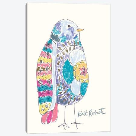 Janice The Bird Canvas Print #KAI252} by Kait Roberts Canvas Art Print