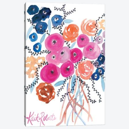 The Flowers Have Secrets Canvas Print #KAI262} by Kait Roberts Canvas Art