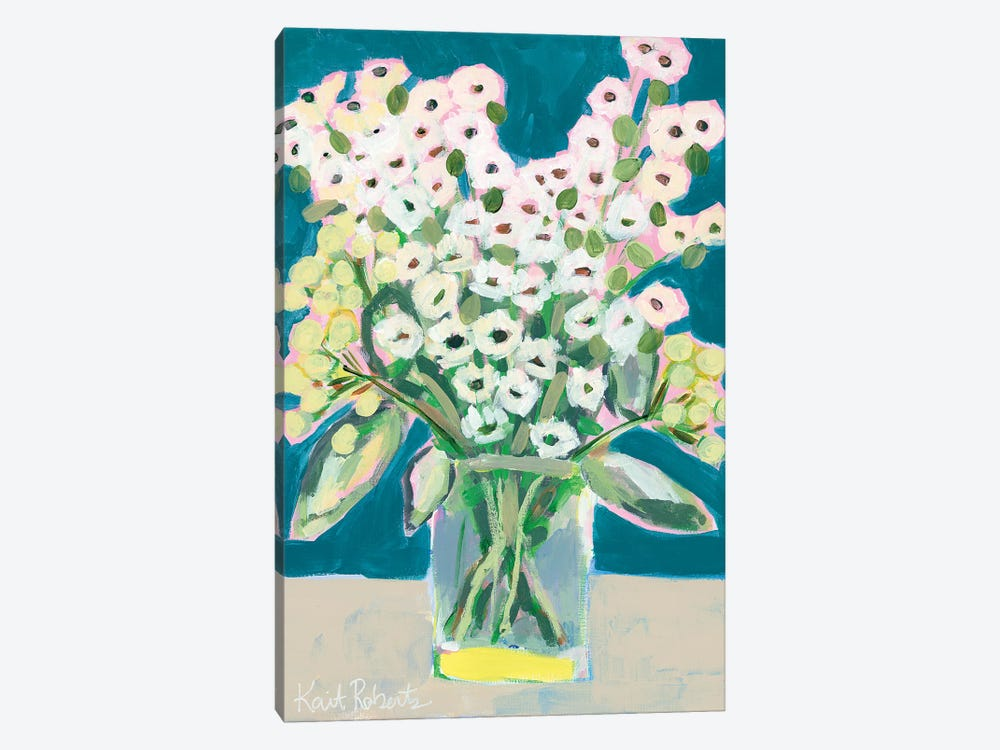 Flowers for Eliza II by Kait Roberts 1-piece Canvas Print