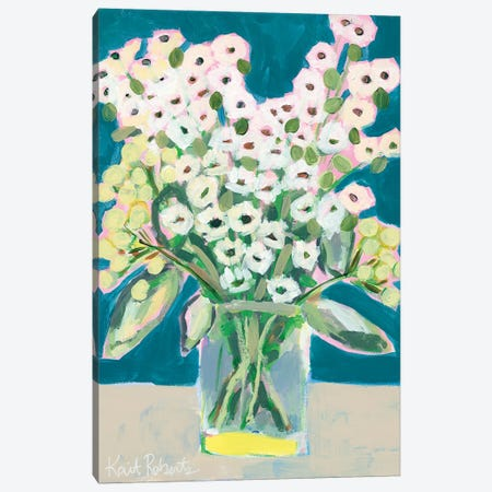 Flowers for Eliza II Canvas Print #KAI30} by Kait Roberts Canvas Art Print