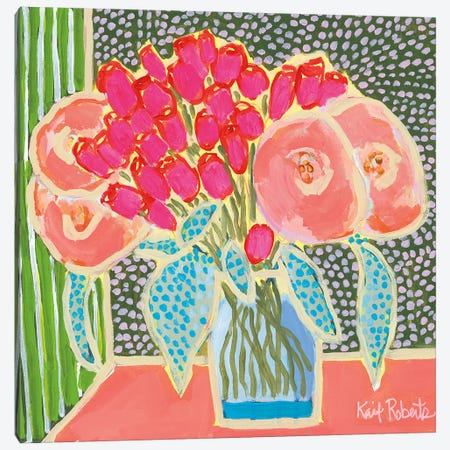 Flowers for Maude No. 2 Canvas Print #KAI32} by Kait Roberts Canvas Print