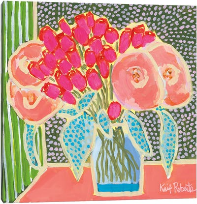 Flowers for Maude No. 2 Canvas Art Print