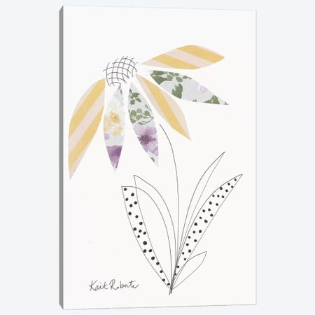Flowers of Tomorrow are Planted Today 3-Piece Canvas #KAI34} by Kait Roberts Canvas Art