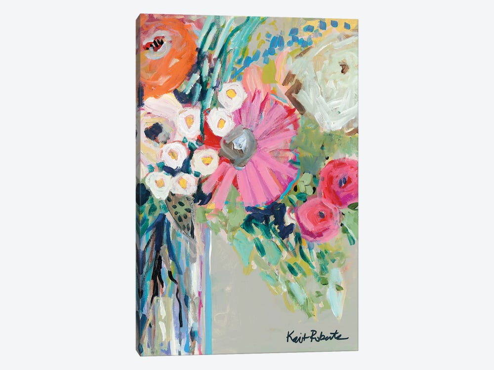From Mrs. Hazel's Garden by Kait Roberts 1-piece Canvas Art