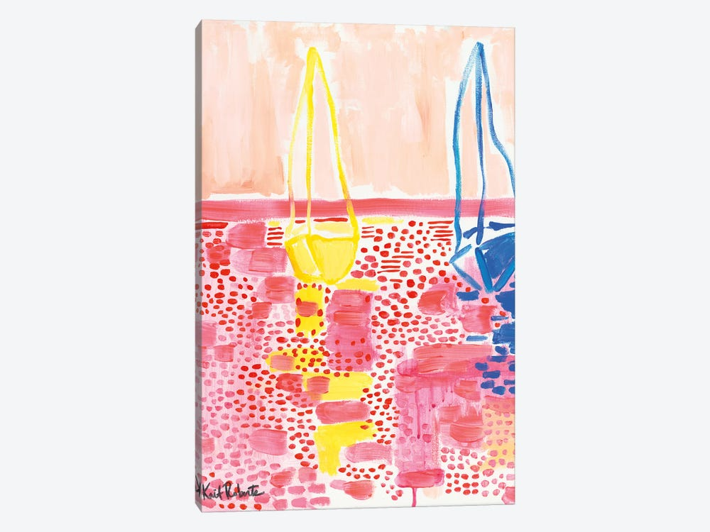 From My Terrace I by Kait Roberts 1-piece Art Print
