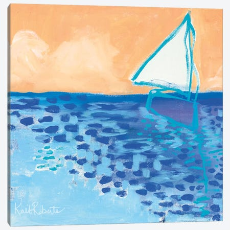 From My Terrace II Canvas Print #KAI37} by Kait Roberts Canvas Artwork