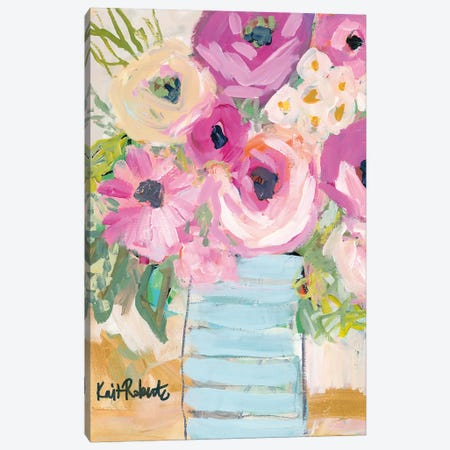 Granny's Visit Canvas Print #KAI41} by Kait Roberts Canvas Wall Art