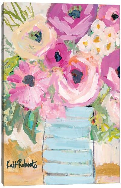 Granny's Visit Canvas Art Print