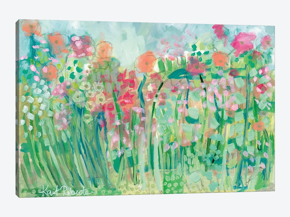 Growing Things I by Kait Roberts 1-piece Canvas Art Print