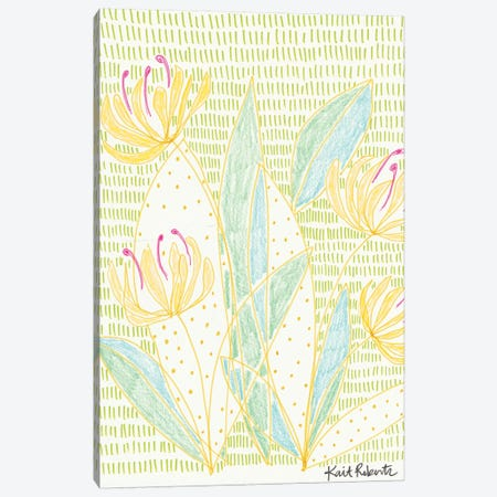 Honey Bunches Canvas Print #KAI47} by Kait Roberts Canvas Print
