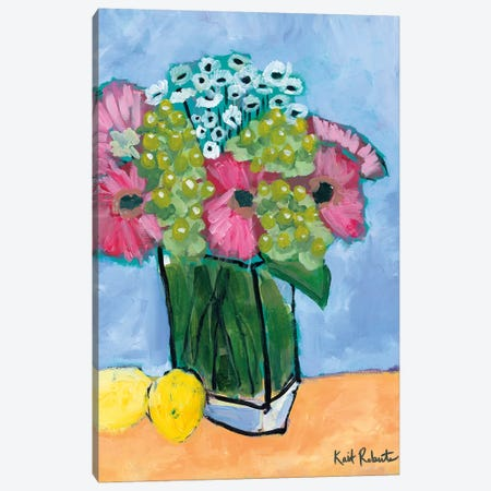 Kitchen Table Series II Canvas Print #KAI58} by Kait Roberts Canvas Art Print