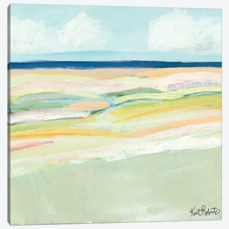 Beach Dunes Canvas Print #KAI6} by Kait Roberts Canvas Art Print