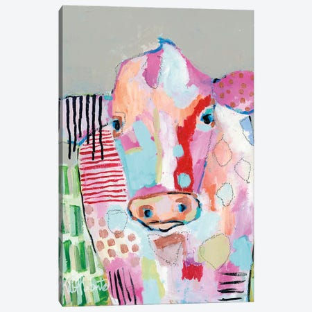 Farrah Canvas Print #KAI72} by Kait Roberts Canvas Print