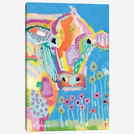 Lucy Canvas Print #KAI75} by Kait Roberts Canvas Artwork