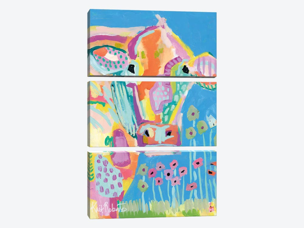 Lucy by Kait Roberts 3-piece Canvas Wall Art