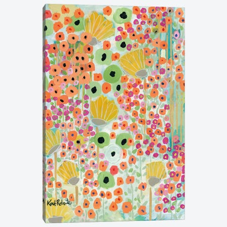 Nourish to Flourish Canvas Print #KAI79} by Kait Roberts Canvas Print
