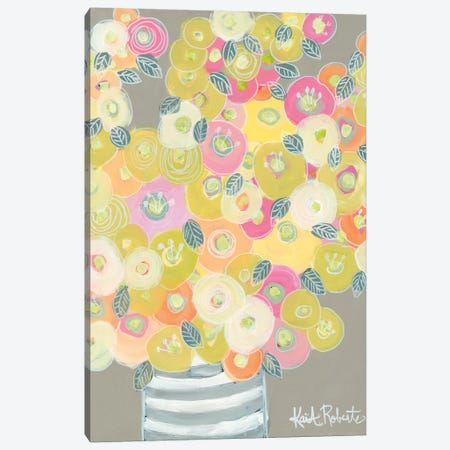 Pleasant Poppies Canvas Print #KAI85} by Kait Roberts Canvas Print