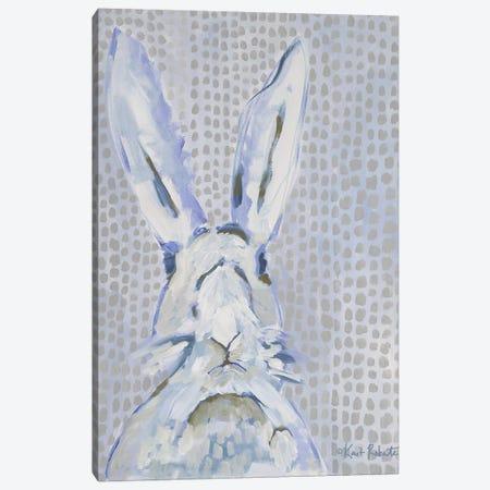 Rhett the Rabbit Canvas Print #KAI90} by Kait Roberts Art Print