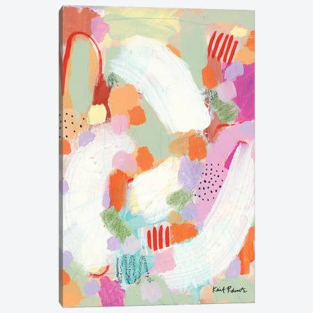 Sing-A-Long Canvas Print #KAI94} by Kait Roberts Canvas Wall Art