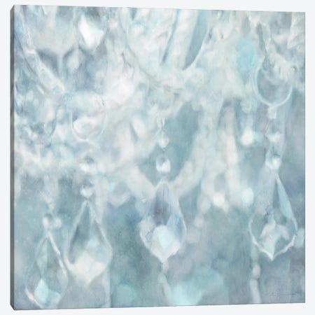 French Blue Chandelier Canvas Print #KAJ100} by Katrina Jones Canvas Print