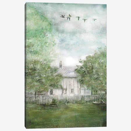 Old Spring House Canvas Print #KAJ106} by Katrina Jones Canvas Art