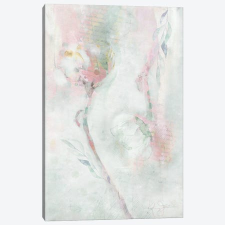 Ranunculus Pair Canvas Print #KAJ111} by Katrina Jones Canvas Artwork