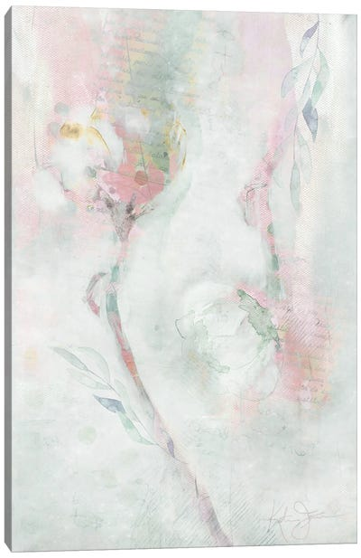Ranunculus Pair Canvas Art Print