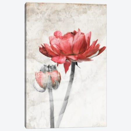 Ravishing Red Bloom Canvas Print #KAJ112} by Katrina Jones Canvas Artwork