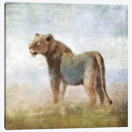 Serengeti Sereies Lioness Canvas Print #KAJ118} by Katrina Jones Canvas Art