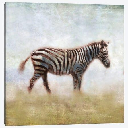Serengeti Series Zebra Canvas Print #KAJ119} by Katrina Jones Canvas Art