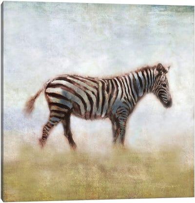 Serengeti Series Zebra Canvas Art Print