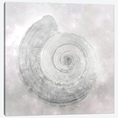 Shell Flourish II Canvas Print #KAJ121} by Katrina Jones Canvas Print