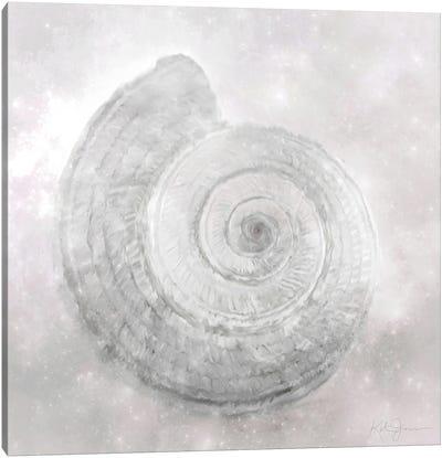 Shell Flourish II Canvas Art Print