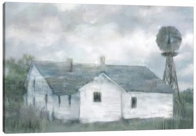 Summer Farmhouse Canvas Art Print