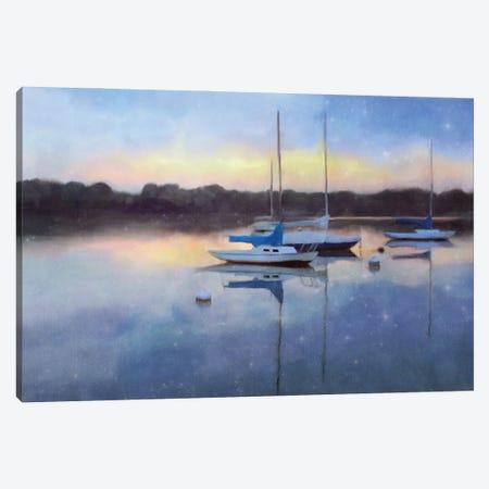 Sunrise Marina Canvas Print #KAJ129} by Katrina Jones Canvas Art Print