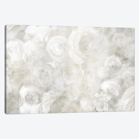 White Floral Field View Canvas Print #KAJ135} by Katrina Jones Canvas Art Print