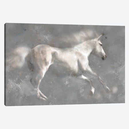 White Horses Canvas Print #KAJ136} by Katrina Jones Canvas Art Print
