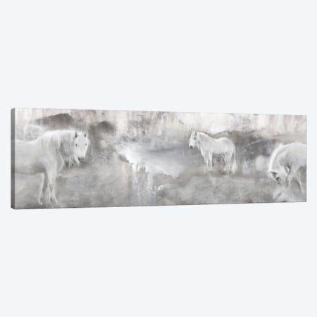 White Mares Landscape Canvas Print #KAJ137} by Katrina Jones Canvas Art Print