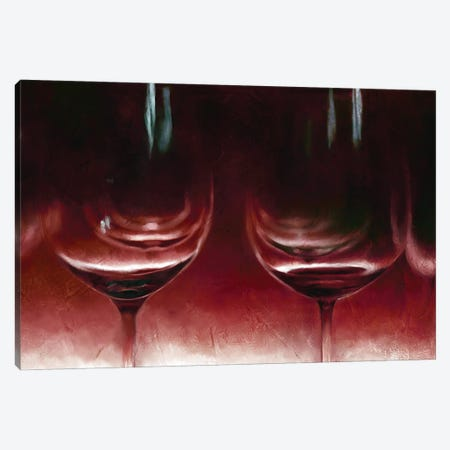Burgandy Wine Canvas Print #KAJ81} by Katrina Jones Canvas Print