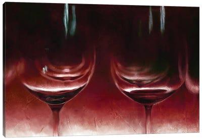 Burgandy Wine Canvas Art Print