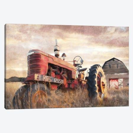 Autumn Tractor Canvas Print #KAJ82} by Katrina Jones Art Print