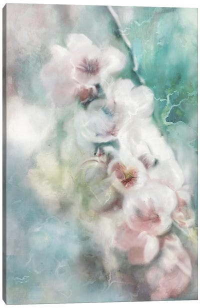 Blossoming Branch Canvas Art Print
