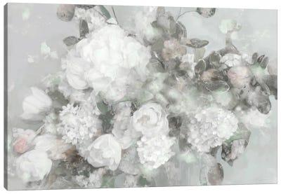 Blushign Blooms Canvas Art Print