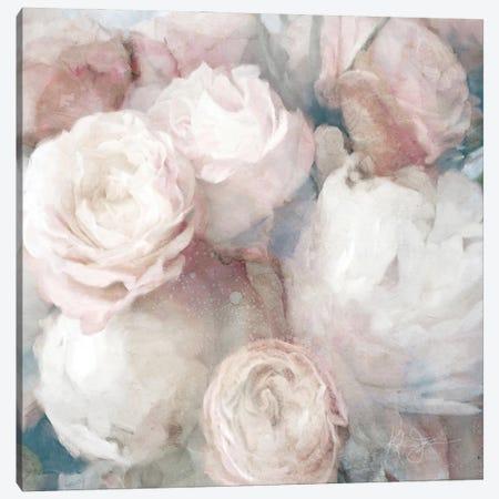 English Rose Garden Canvas Print #KAJ95} by Katrina Jones Canvas Print