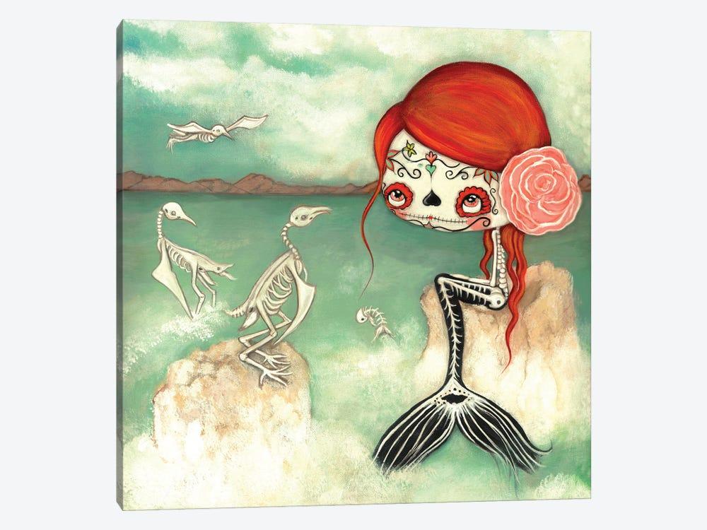 The Dead Sea by Kelly Ann Kost 1-piece Canvas Print