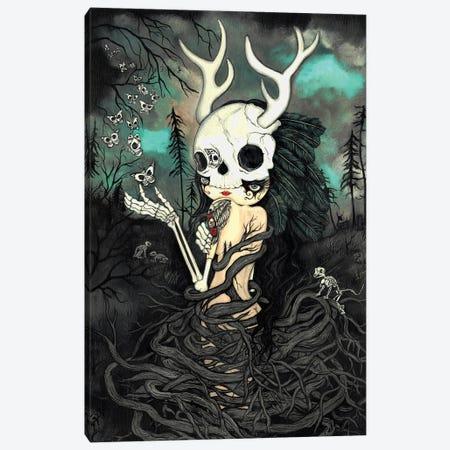 Dark Forest Canvas Print #KAK13} by Kelly Ann Kost Canvas Print