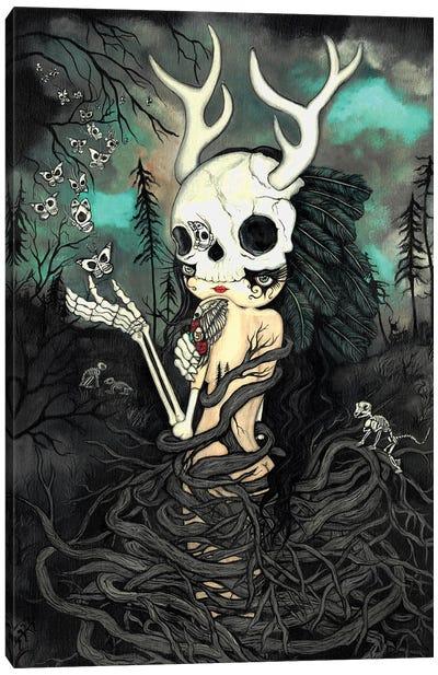 Dark Forest Canvas Art Print