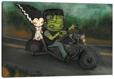 Harley Frankenstein Canvas Art Print