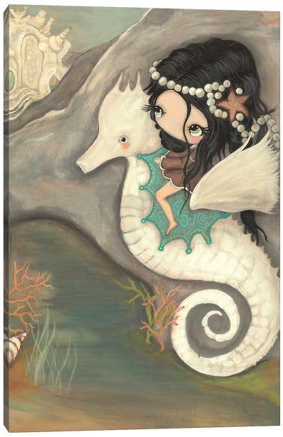 Seahorse Castle Canvas Art Print